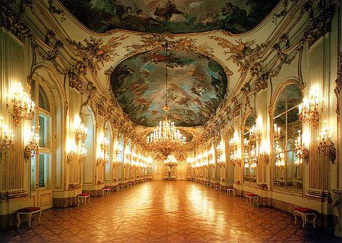 シェーンブルン宮殿の大ギャラリー
