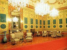 シェーンブルン宮殿の「青い中国のサロン」