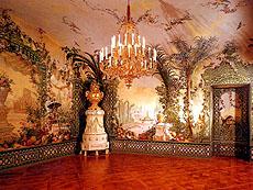 シェーンブルン宮殿の「ベルグルの間(庭園の間)」
